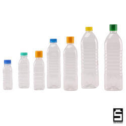 Square Oil PET Bottle
