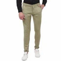 Cotton Lycra Men Chinos Pants