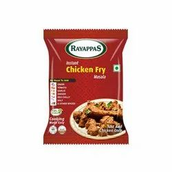Rayappas Instant Chicken Fry Masala, Packaging Type: Packets, Features: 100% Natural