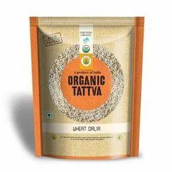 Organic Tattva Wheat Dalia, Packaging Type: Pp Bag