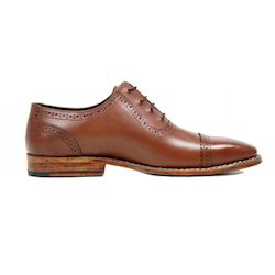 Men Brown Handmade Leather Shoes