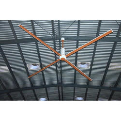 4 Blade Industrial HVLS Fan, Phase: 3 Phase
