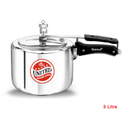 United Regular Aluminium Innerlid Pressure Cooker 3 Litre