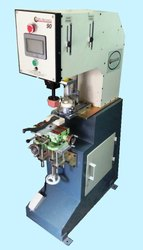 Single Color 90 mm dia Closed Cup Pad Printing Machine Model MAX 90