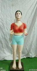 Gauri Standing Mahalaxmi  Fiber Statue