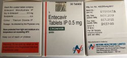 Cronivir 0.5Mg Tab 30S Pack (Entecavir 0.5mg)