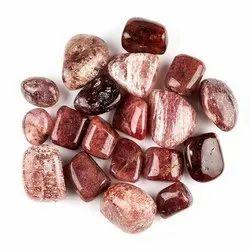 Natural Strawberry Quartz Gemstones Tumbles