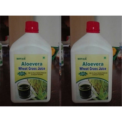 Organic Aloe Vera Wheat Grass Juice