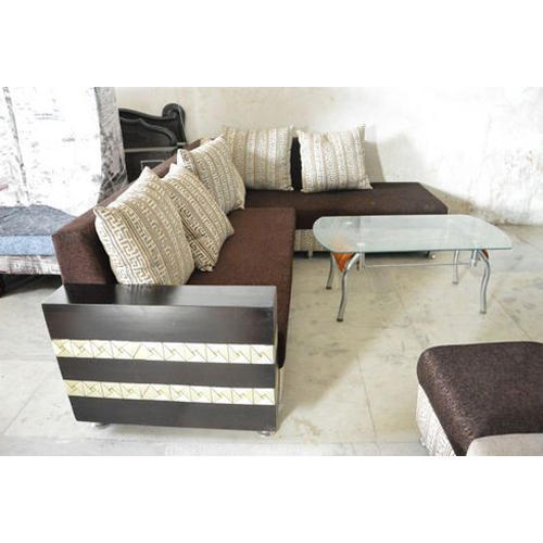 L Shape Sofa Set With Table