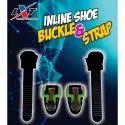 Inline Shoe Buckle Strap