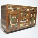 Reclaimed Chip French Sideboard