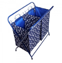 Blue Duo Laundry Bag