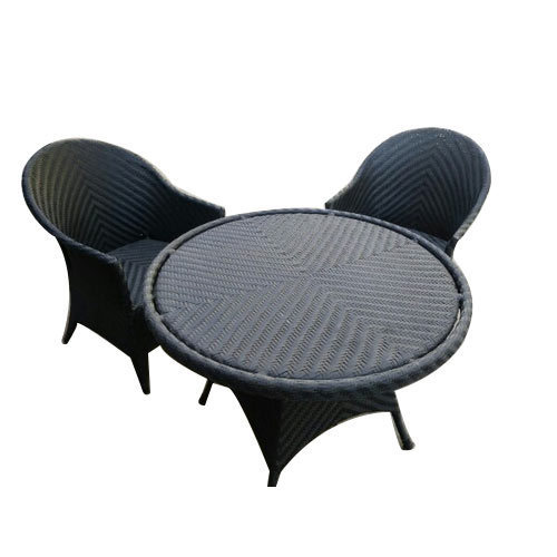 black garden furniture