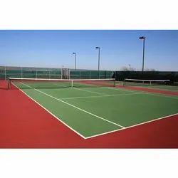 Wooden Flooring Synthetic Tennis Court Flooring, 2-10 Mm