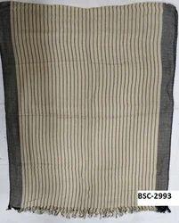 Viscose Yarn Dyed Stripe Stole