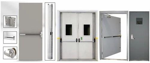 패닉 바있는 금속 방화 도어, Rs 4200 / 평방 미터 Koleshvari Infratech Private Limited   ID : 16346879655