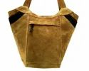 Designer Leather Executive Tote Bag