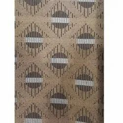 Brown Polyester Curtain Fabric