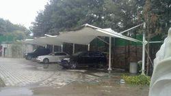 Tensile Parking Shade