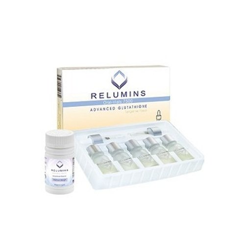 Relumins Advanced Glutathione 7500mg Injection