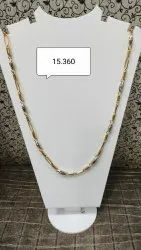 22 Kt Gold chains, 15