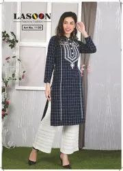 5046 Woolen Ladies Kurta