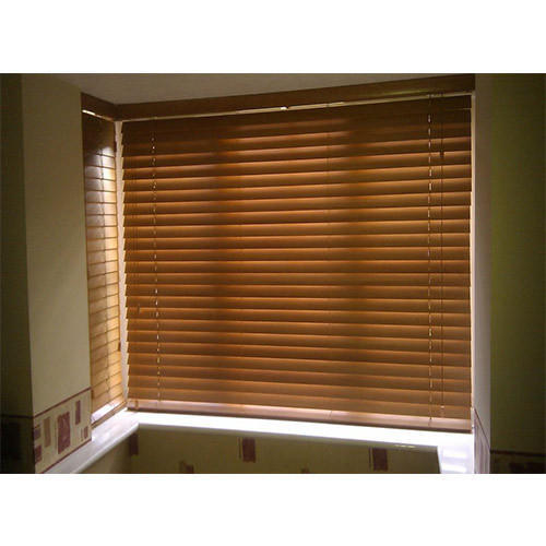 Polyester Brown Triple Shade Blinds