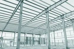 Steel Industrial Shed, for Factory,Warehouse