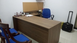 Directors/ Executive Table With Side Credenza