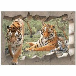 Multicolor Poster Ceramic Tiles, Size: 12x18