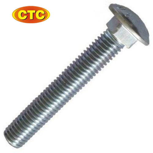 Ms Zinc Plated Carriage Bolt
