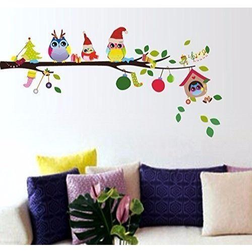 pvc merry christmas wall sticker, rs 299 /piece, friends digital