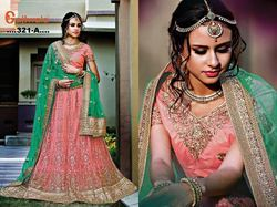 Party Wear Semi-Stitched Classy Festival Wear Lehenga