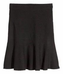 Black A line Skirts