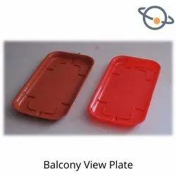 Balcony View Plate