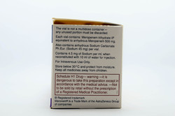 Meronem 500 mg Injection