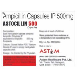 Ampicillin Capsules IP 500 mg