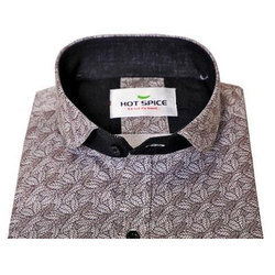 Hot Spice Mens Printed Party Wear Shirt