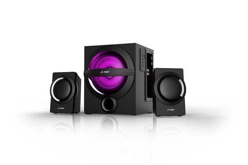 F&d A140x 2 1 Channel Multimedia Bluetooth Speakers (black)