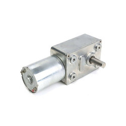 Worm Geared DC Motor