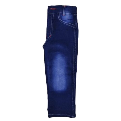 Shades Regular Fit Kids Blue Jeans, Size: 20 - 34