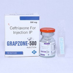 Ceftriaxone for Injection IP 500mg