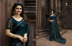 Vinay Fashion's Fountain Silk Georgette Sarees