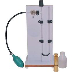 Analog WHITE Blain Air Permeability Apparatus, Packaging Type: Wooden Box, Model Name/Number: Elshaddai