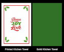 Embroidery Christmas Kitchen Towel Set