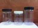Plastic Peanut Butter Jar