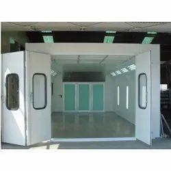 Three Phase Mild Steel Powder Coating Booth