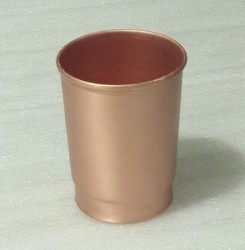 Plain Copper Tumbler