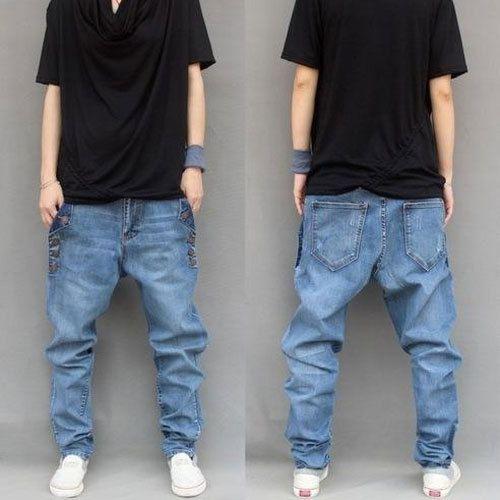 8345eec5029 Blue Casual Wear Men  s Balloon Fit Jeans