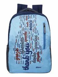 Light Blue Backpack Bag